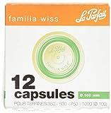 Le Parfait - familia wiss - Boite de 12 capsules Familia Wiss - 100mm - Vert