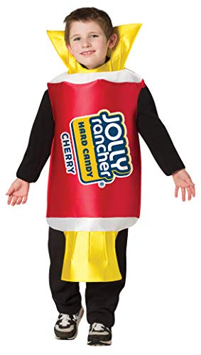 Hershey's Jolly Rancher Cherry Candy Kids Costume Hershey Outfit Child Size 7-10