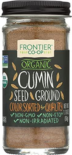 Frontier Herb Organic Ground Cumin Seed, 1.76 oz