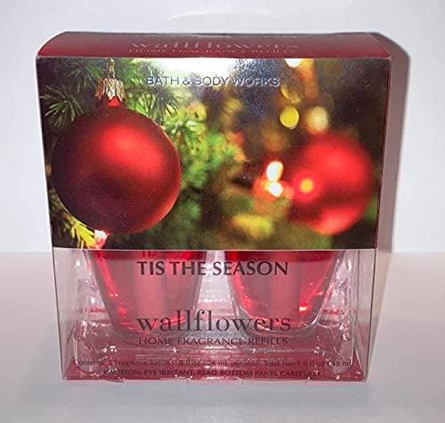 Wallflowers Bath Body Works Fragrance Refill Bulb 2 Pack 'Tis The Season