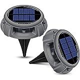 URPOWER Solar Lights, Waterproof Solar Lights Outdoor 2-in-1...