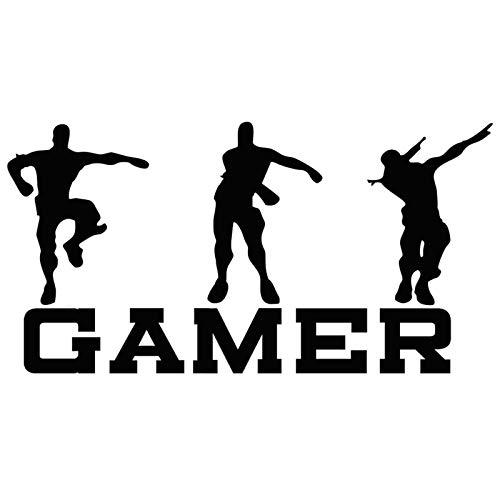 Boy Gamer - Pegatinas de pared para juegos creativos de pared, vinilo divertido para juegos de videojuegos para la familia, el hogar, los niños, la sala de estar, el dormitorio, la sala de juegos