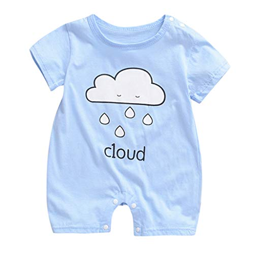 Lowest Price! TIANRUN Playsuit Bodysuit for Newborn Infant Baby 0-18M Cartoon Print Romper Jumpsuit ...