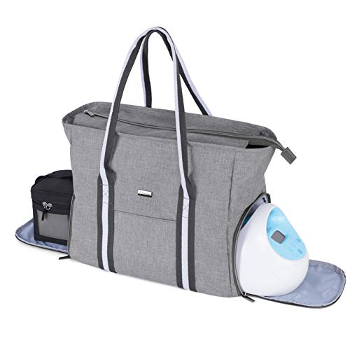Yarwo Breast Pump Bag with Laptop Sleeve, Portable Travel...