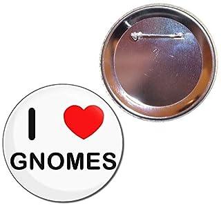Love Gnomes 77mm Button Badge