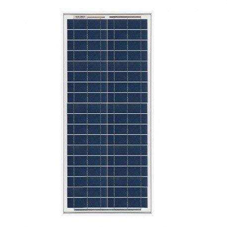 Pannello Solare Fotovoltaico 30W 12V Policristallino Impianto Camper Barca Baita