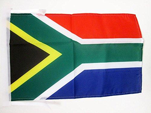 AZ FLAG Flagge SÜDAFRIKA 45x30cm mit Kordel - Republik SÜDAFRIKA Fahne 30 x 45 cm - flaggen Top Qualität