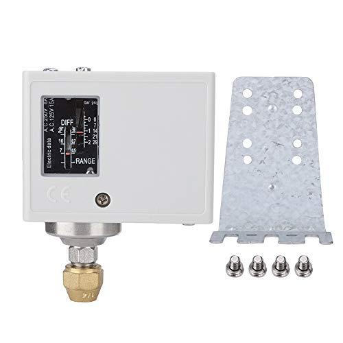 Controlador de presión del compresor de la bomba de agua y aire del interruptor de control de presión G1/2