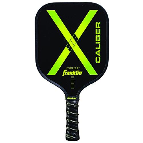 Franklin Sports Pickleball Paddle - Nomex Pickleball Racket - X Caliber Performance Paddle - Green - USA Pickleball (USAPA) Approved