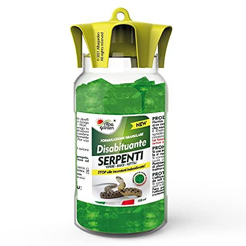 Albagarden - Disabituante Repellente Barriera Per Serpenti Dissuasore Naturale Per Allontanare Vipere Bisce Rettili - No Recinzioni Effetto Scaccia Animali Senza Veleno e Ultrasuoni - Gel x 750 ml