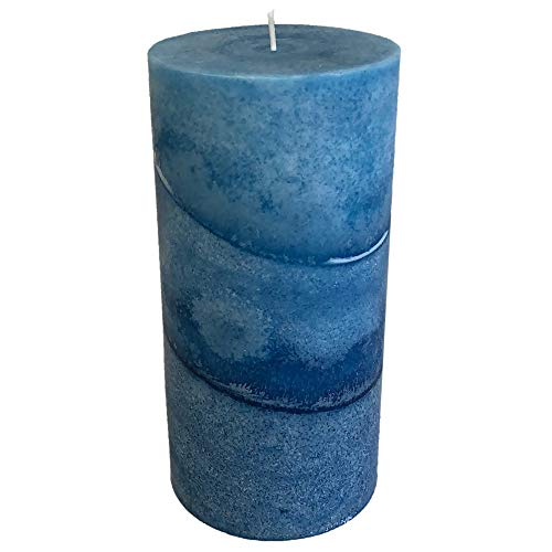 Wicks N More Caribbean Blue Scented Candles (3x6)