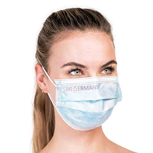 SHR Germany MUNDMASKE BLAU 10ER PACK