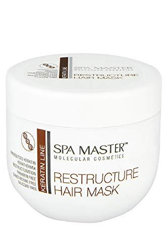 Spa Master Masque restructurant à la kératine pour cheveux 500 ml