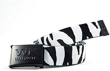 Cinturón con estampado de cebra de la marca Widwik