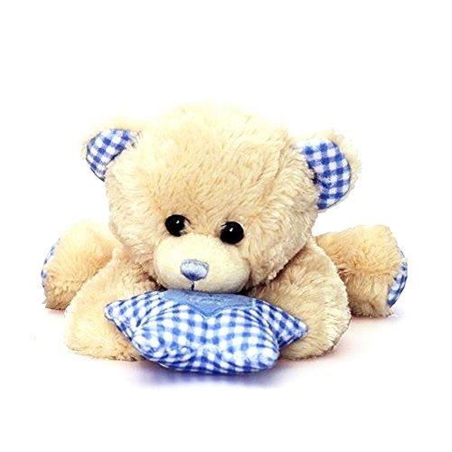 Keel Toys Dangle - Peluche ourson musical - Enfant (Taille unique) (Bleu)