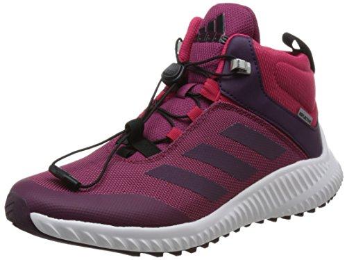 adidas Fortatrail Mid K, Zapatillas de Deporte Unisex niños, (Rubmis/Rojnoc/Rosene), 38 EU