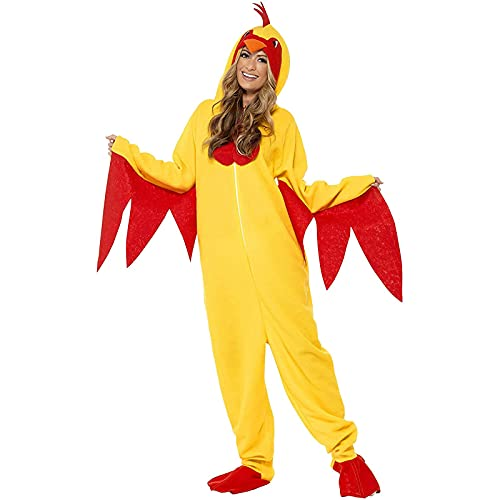 Trajes divertidos para mujer y hombre, diseño de pavo de una pieza de Acción de Gracias, amarillo, XXL