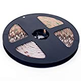DEMODU® Tira de LED Eco RGB de 12 V, regulable y regulable, autoadhesiva, controlable por teléfono móvil y Alexa, 60 SMD/M, 5050 L, para interiores, IP20