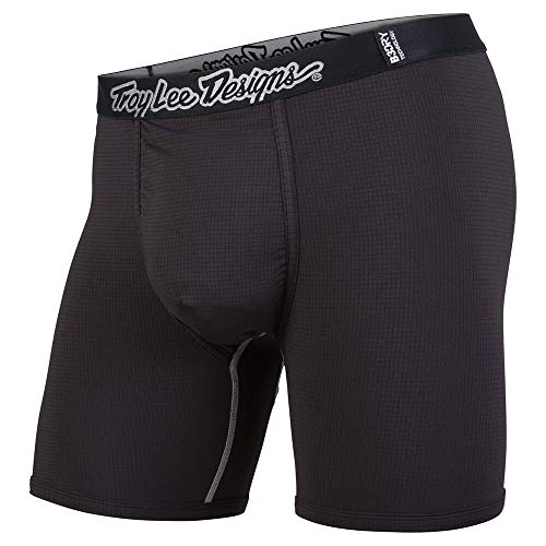 Troy Lee Designs Men's BN3TH Underwear/Boxer Briefs Solid (Medium, Black)