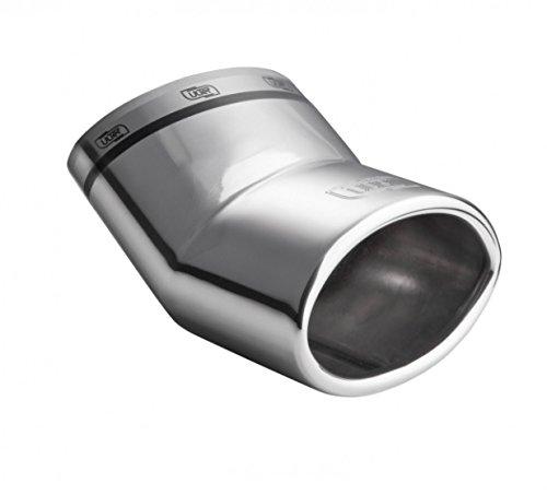 ALP Auspuffblende Endrohr Sportauspuff Smart Fortwo Forfour Typ 453 ab 2014 mit DEKRA GUTACHTEN.Eintragungsfrei.Premium Qualität aus dem Hause ULTER