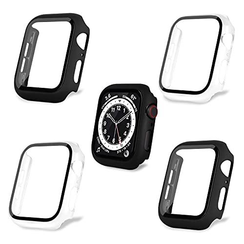 AOTUAO Funda Compatible con Apple Watch Serie 6 SE 5 4 44mm,...