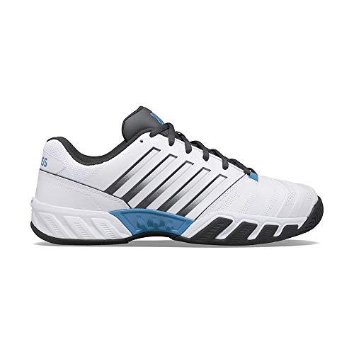 K-Swiss Bigshot Light 4, Zapatos de Tenis Hombre, Blanco, 41.5 EU