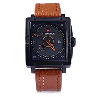 Naviforce Casual Watch For Men Analog Leather - NF9065.4