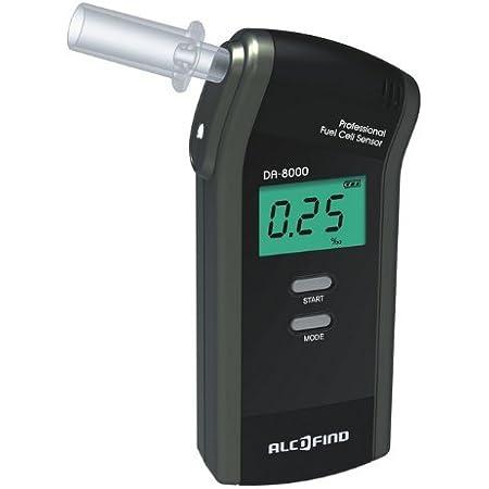 Alkoholtester Trendmedic Alcofind Da 8000 Mobiles Digitales Atem Alkoholmessgerät Mit Langzeitstabilen Fuel Cell Sensor Bis 5 00 Polizeigenau Auto