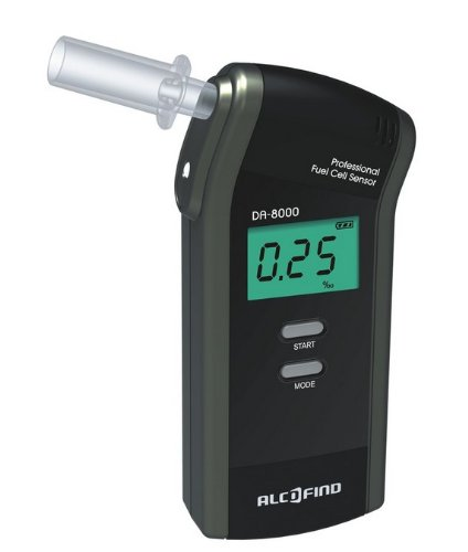 Trendmedic Alcofind DA-8000 mobiles Bild