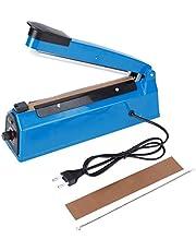 Zakverzegeling-PFS-200 210W 8-inch handimpuls-hete sealmachine verzegelingsmachine instelbare timer EU-stekker AC220V
