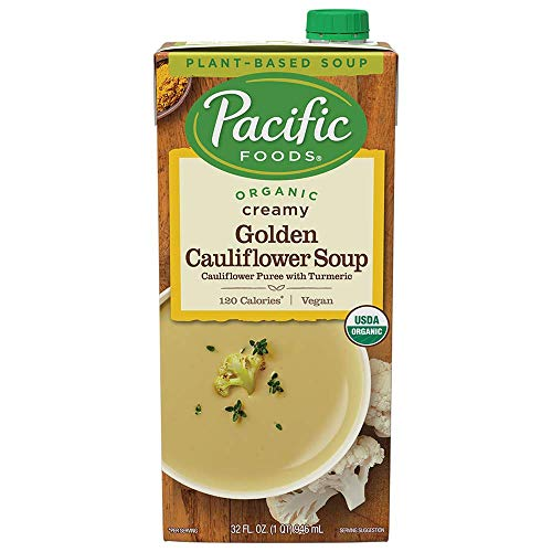 12 Pack Of Pacific Foods Organic Creamy Golden Cauliflower Soup For $16.83-$18.81 Shipped From Amazon