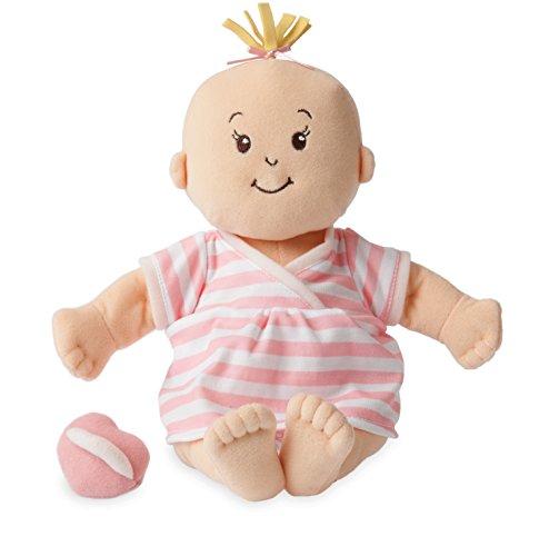 Manhattan Toy Baby Stella Peach weiches erstes Babypuppe für Alter ab 1 Jahr, 38.1cm