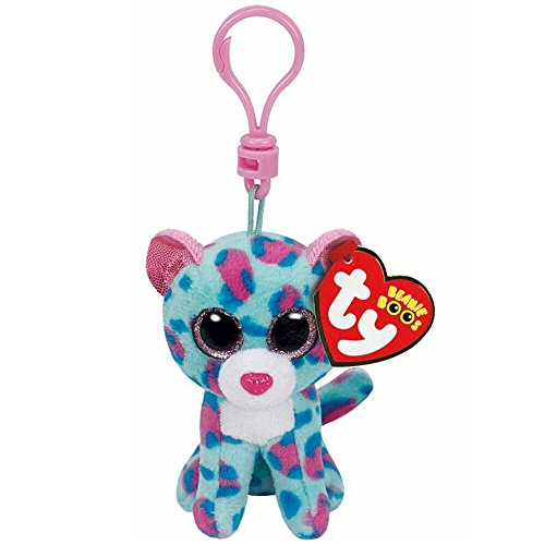 Ty Beanie Boos Sydney - Leopard Clip (Claire's Exclusive)