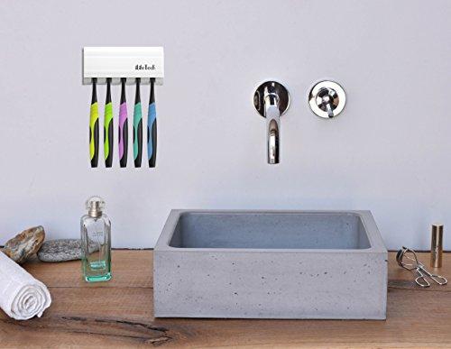 Dispensador de pasta de dientes Baño automático Exprimidor y cepillo