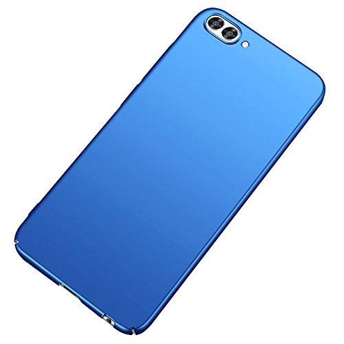 BLUGUL Honor View 10 Hülle, Ultra-Dünn, Premium-Mattlackierung, Harter Schutzhülle, Leichter Hülle Cover für Huawei Honor View 10, Blau