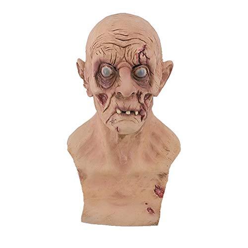 Hengyutoy mask Nuevo Estilo Halloween Máscara de Terror de Scary Zombie Látex Máscara