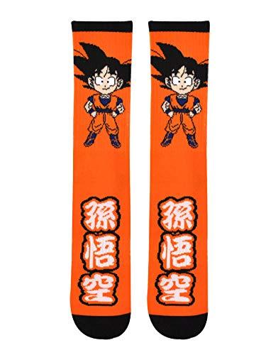 Dragon Ball Z Goku Chibi Anime - Calcetines deportivos con licencia oficial