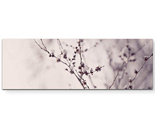Paul Sinus Art Leinwandbilder | Bilder Leinwand 120x40cm vereister AST