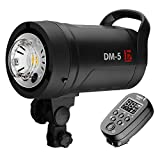 JINBEI DM-5 500Ws Studio Flash Strobe Monolight Power with 2.4G System(Trigger Included) 15W LED...