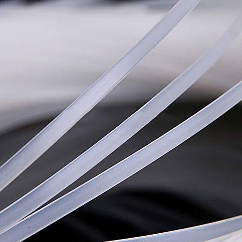 CHENGYIDA 10 meter helder plastic polyester Boning Bra plastic bot breedte 6 mm, dik 1,7 mm