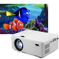 Play New Full HD LED Projector HDMI / USB / AV / SD /Android,Play,PP10A