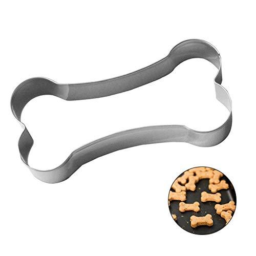 CAOLATOR Edelstahl Schokolade Keks Ausstecher Kuchen Plätzchen Ausstecherform Knochen/Hundefutter Biskuitform