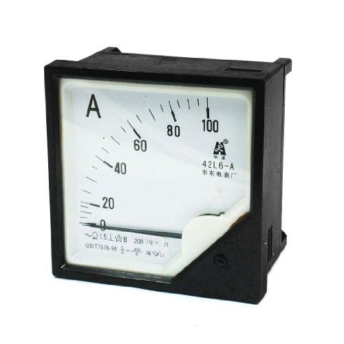 Aexit AC 0-100A 1,5 Genauigkeit Analog-Amperemeter-Messgerät Spurweite 42L6-A (4921cc2a4587000a3beb17232fe5850f)
