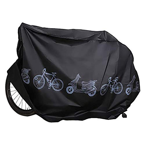 ZKHONG Bike Covers For Outside Storage Durable Waterproof Windproof Universal Outdoor Waterproof Bike Cover Bicycle Cycle Rain Dust Resistant Storage For Mountain, Road Bike, Kids Bike