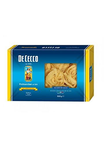 5x Pasta De Cecco 100% Italienisch Fettuccine n 233 Nudeln 500g