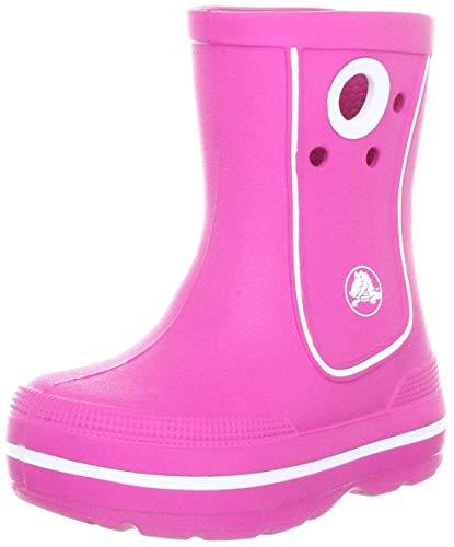 Crocs Crocband Jaunt Kids, Unisex - Kinder Gummistiefel, Pink (Fuchsia), 22/24 EU