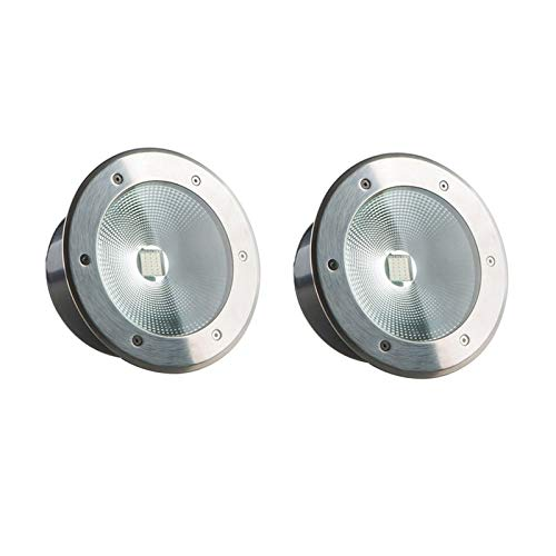 AMDHZ Decking de Las Luces LED Impermeable IP65 de Seguridad de Baja tensión a Prueba de Polvo Protección Ambiental Escaleras, 7 Colores, 7 Potencia (Color : B, Size : 50W)