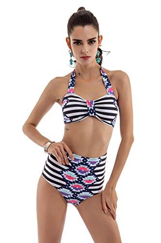 SZH YIBI Mme nouvelle bikini environnement élasticité élevée Europe et les États-Unis maillot de bain sexy maillot de bain siamois , picture color , m