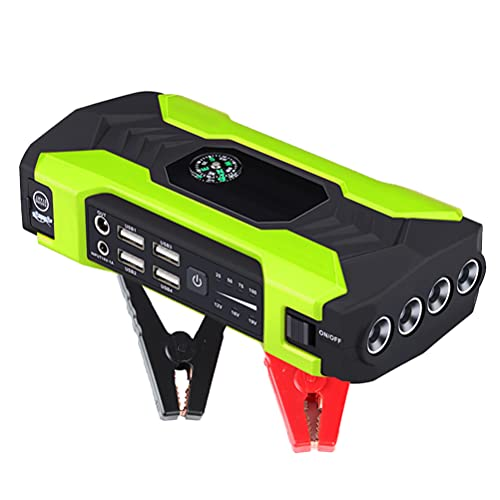 LITI 400 A Peak Portable Charger Emergency, 20000 mAh 12 V Portable Car Jump Starter, Car Jump Starter Power Bank, Battery Jump Starter Mit Sicherheitshammer, LED Batterieanzeige