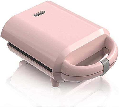 Home Mini Wafelijzer, Antiaanbaklaag Diepe kookplaat Intelligente automatische verwarming, draagbaar Geschikt voor bakkerij Snackbar-familie